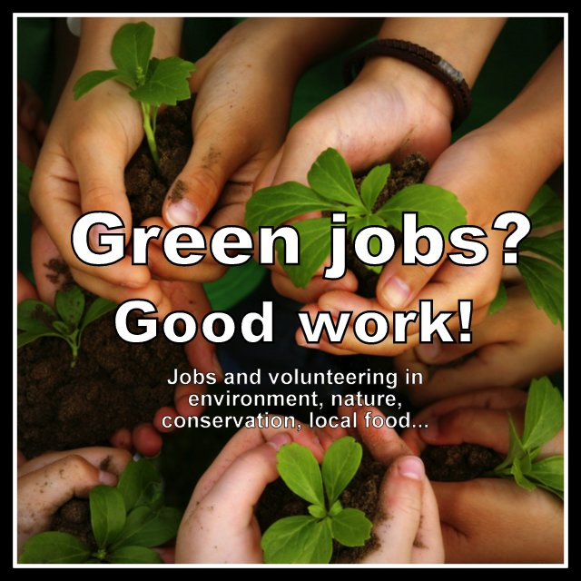 Work for a greener world: jobs in environment, nature, sustainability, across Canada and beyond.